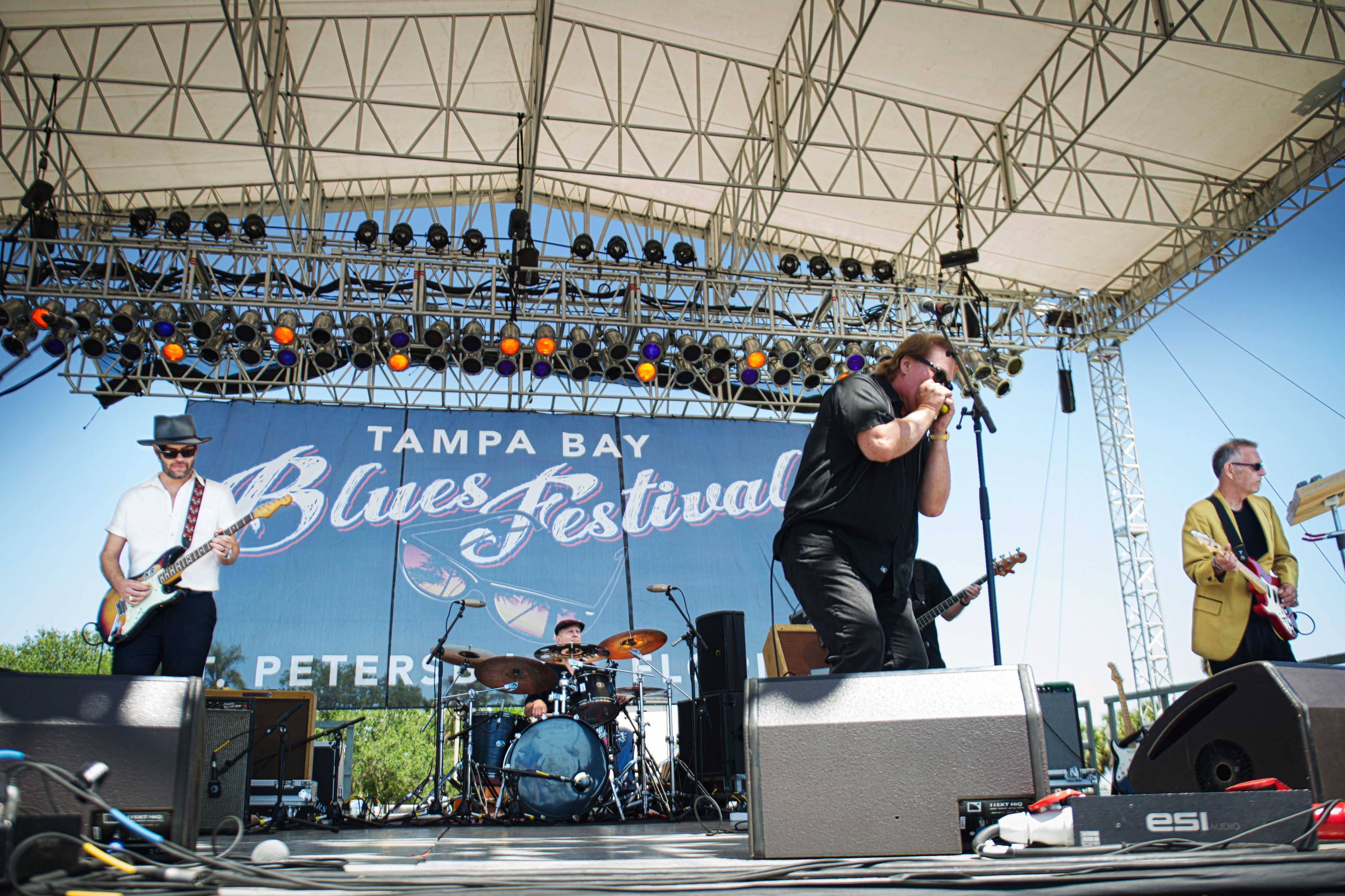 Backtrack Blues Band - Tampa Bay Blues Festival